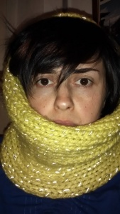 On The Glo yellow snood