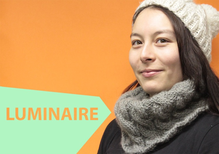 Luminaire - reflective snood from On The Glo